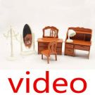 Videos of Doll house accessories